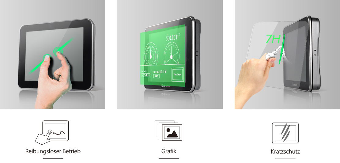 Smart HMI Touchpanel