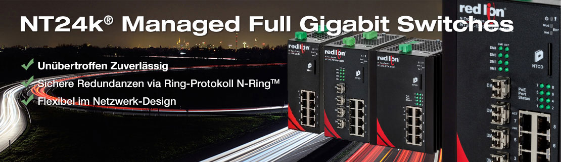 Industrial Ethernet und WLAN - Managed Networks